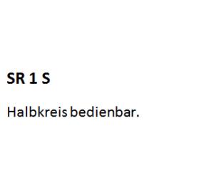 SR 1 S, SR1S, SR 1S, SR1 S