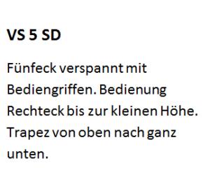 VS 5 SD, VS5SD, VS 5SD, VS5 SD
