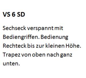 VS 6 SD, VS6SD, VS 6SD, VS6 SD